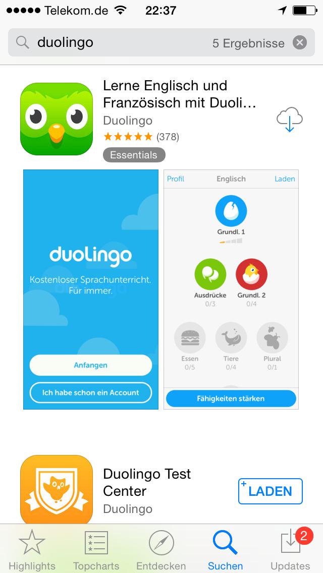 них приложение английский для смартфона Турупанов