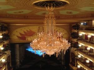Люстра в Большом театре