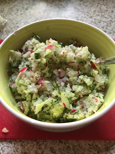 А это готовый салат через 10 секунд